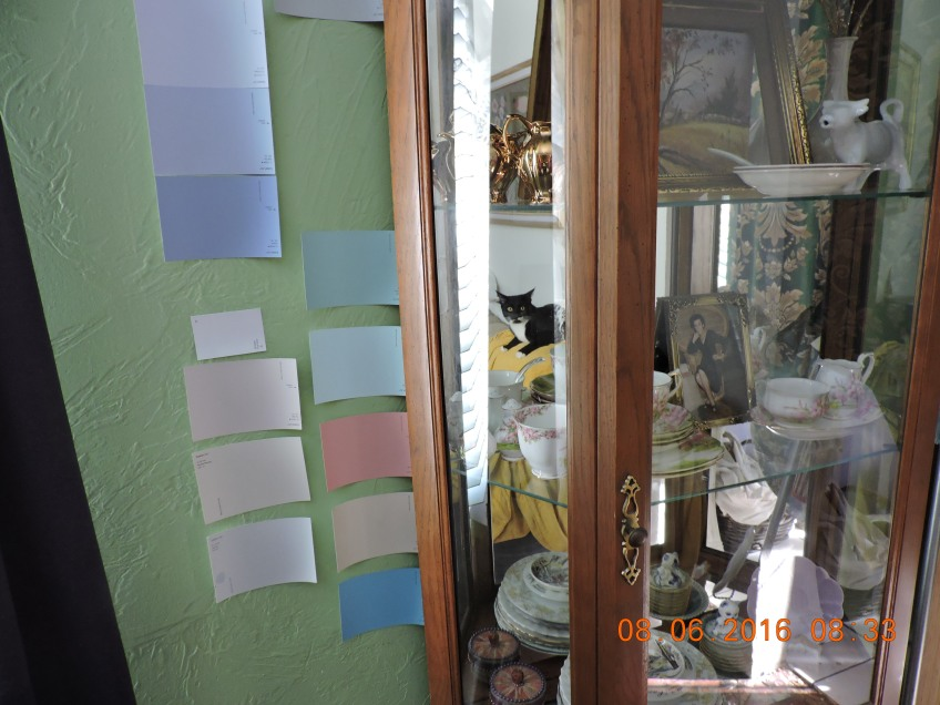 Frazee paint chip box from designer days
