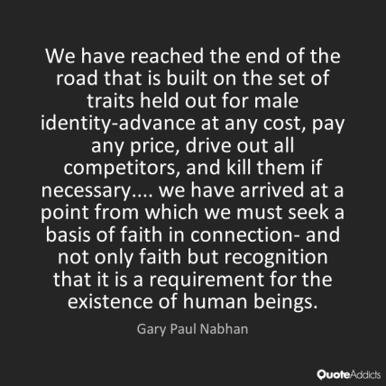 Gary Paul Nabhan Quote